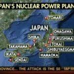 原子力発電所地図