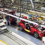 マツダ自動車工場